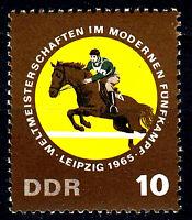 1133 postfrisch DDR Briefmarke Stamp East Germany GDR Year Jahrgang 1965