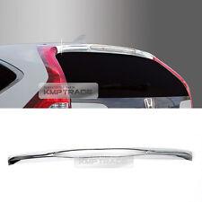 for HONDA 2012-16 CR-V Chrome Rear Lip Spoiler Guard Cover Trim Molding C153 1P