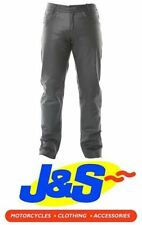 Pantalons noirs pour motocyclette Homme taille 40
