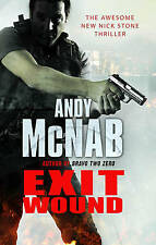 Exit wound by Andy McNab (Hardback)