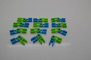 K'NEX 12 Complete Hinges Green & Blue
