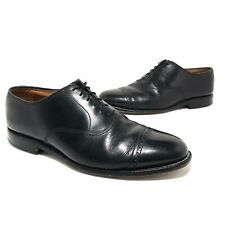Allen Edmonds Mens Bryon Cap Toe Oxford Shoes Size 10.5 Black