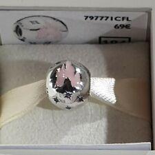 Charm PANDORA Boule Château Rose / Ball Pink Castle Disneyland Paris 797771CFL