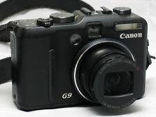 Canon PowerShot G9 12.1MP Digital Camera - Black - Used, Working #11