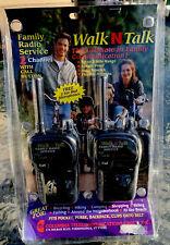 Walk N Talk Family Radio Service 2 way radio FRS-2 Walkie Talkies New In Package