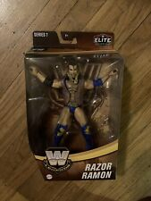 WWE WWF Elite Legends Series 7 Razor Ramone MOC Rare Fashback Retro