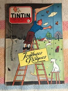 journal tintin 388 France (1956) couv Hergé BD ancienne