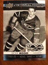 2017-18 UD Hockey Series 1 Centennial Standouts #CS-12 Dickie Moore