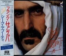 FRANK ZAPPA Sheik Yerbouti JAPAN 1st Press CD 1988 CP32-5661 3200yen W/Obi