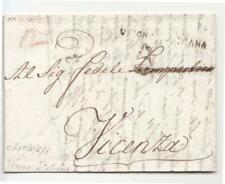 1802 REPUBBLICA ITALIANA NAPOLEON.lettera VERONA-VICENZA+t.VERONA ITALIANA-O895
