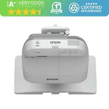 Epson EB-585Wi Projector 3LCD Ultra Short Throw 1280 x 800 16:10 Grade A-