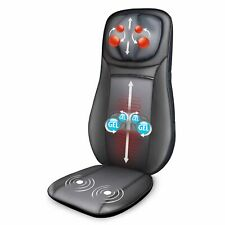 【Snailax Official Shop】Gel Shiatsu Neck & Back Massage Cushion Massager Seat
