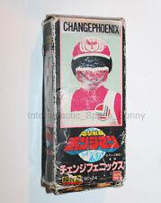 1980's Bandai Power Rangers Change Man Phoneix Action Figure Boxed Chogokin