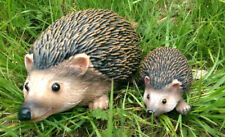 Realistic Hedgehog Family Garden Animal Ornaments - Small And Large Lawn Statues