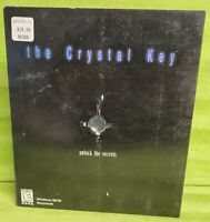 Crystal Key (Windows/Mac, 1999) Big Box Windows 95 98 Mac OS 7.5 or higher
