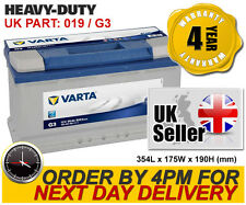Varta G3 Heavy Duty 019 Car Battery 95Ah - Iveco Jaguar Jeep Land Rover Mercedes