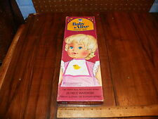 """1975 General Mills Whitman """"Baby Alive"""" Paper Doll $"""