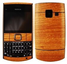 Skinomi Light Wood Full Body Phone Skin+Screen Protector Cover for Nokia X2-01