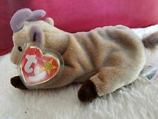 Ty Beanie Baby Goatee Retired 1999 with Printing Errors