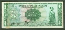 New listing Banknote B04 Paraguay 1 Guarani 1952 (Sticked with tape)