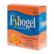 2 Boxes Fybogel Ispaghula Husk Natural Fiber Drink - Orange (10s) DHL EXPRESS