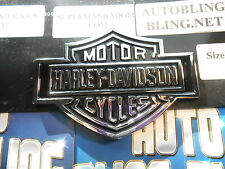 HARLEY DAVIDSON CYCLES CHROME EMBLEMS WHEELS DUB Badges (This is for 1)
