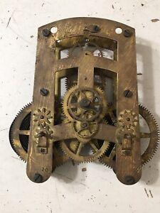 Antique Seth Thomas Long Duration Regulator Clock Movement Parts
