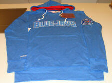 Toronto Blue Jays MLB Baseball LS Hooded T Shirt Mitchell Ness Medium Retro Logo