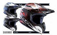 HJC RPha X Silverbolt Black Red Blue Off-Road MX Motocross Helmet RRP £299.99