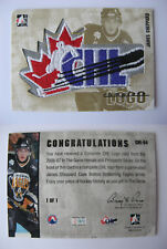 2006-07 ITG Heroes and Prospects James Sheppard 1/1 CHL logo 1 of 1 DEL Kloten
