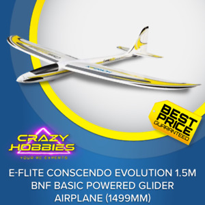 E-flite Conscendo Evolution 1.5m BNF Basic Powered Glider Airplane (1499mm) *IN