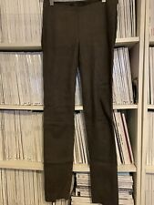 DROME  Skinny Leather Trouser Pants - Small >RRP £1800.00