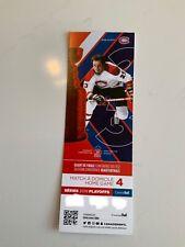 unused season hockey  tickets Montreal Canadiens Bob Gainey