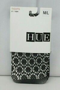 HUE Circle Net Tights Open Pattern Black U16598 M/L
