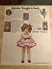 SHIRLEY TEMPLE - Vintage 1973 Magazine Shirley Temple Doll Ad