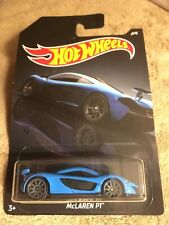 Hot Wheels McLaren P1 : 2020 Exotics: Blue / Nice!