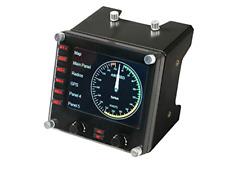 Logitech G Saitek Pro Flight Instrument Panel Colorful 3.5-inch LCD screen, New
