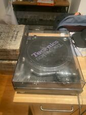 Technics SL1210MK5 DJ Battle Turntables Black with Lid and Factory Box 1 of 2