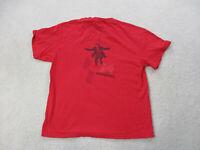 Paul McCartney Concert Shirt Adult Large Red Black Rock Band Beatles Tour Mens *