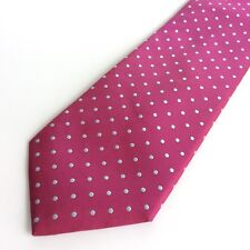 Charles Tyrwhitt Jermyn Street London  Multi Colour Dots Tie Silk CLEAN!