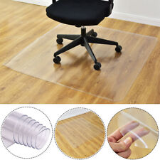 50×90cm Clear Chair Mat Home Office Computer Desk Floor Carpet PVC Protector