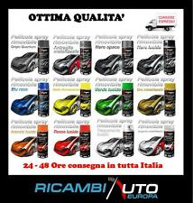 PELLICOLA VERNICE SPRAY RIMOVIBILE AUTO MOTO CAR WRAPPING 400ML D-GEAR SPORT