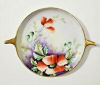 Rosenthal Bavaria Donatello Hand painted Flowers, Gold Rim Dish