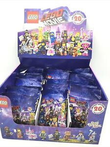 Lego  71023 The Lego Movie Series 2 Minifigures  Box Of 34