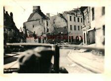Foto, Wk2, N.E.A.4, Fahrt durch Saargemünd, Frankreich, 1940 (G)21081