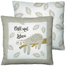 "Pillow Plush Sloth "" Chill Mal Dein Leben "" 45414 Sheepworld"