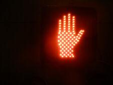Traffice Signal Light, Red LED Hand