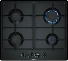 New Bosch Series 4 PGP6B6B60 Black Enamel 60cm (600mm) 4 Burner Gas Hob