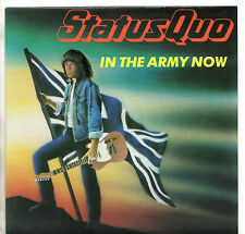 "Status Quo - In The Army Now 7"" Single 1986"