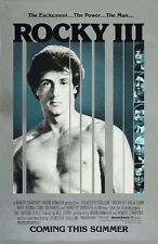 Rocky III (1982)  Sylvester Stallone movie poster print 2